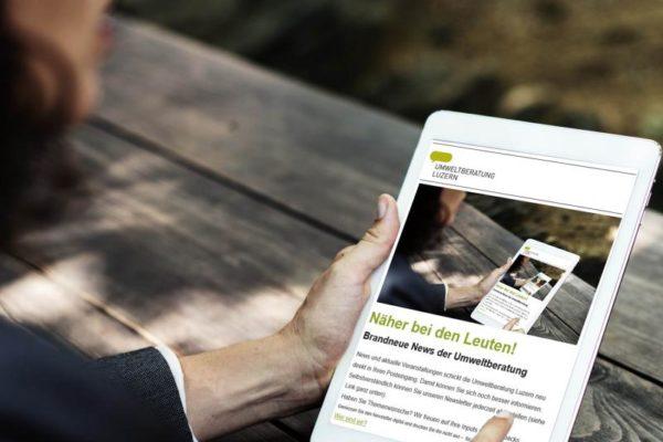 Konzeption & Umsetzung Newsletter