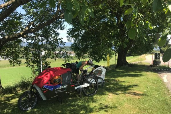 Wochenendausflug mit eCargo-Bike