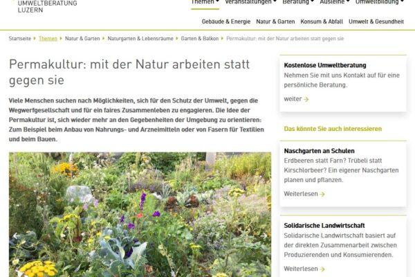 Artikelseite umweltberatung-luzern.ch