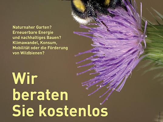 Plakat Stadt Luzern: kostenlose Beratung_Umweltberatung Luzern