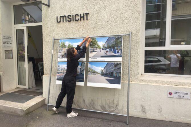 """Ausstellung """"Die neue Bahnhofstrasse"""""""